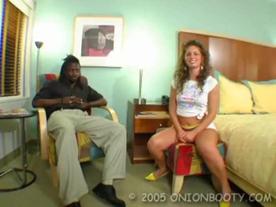 Action couple interracial