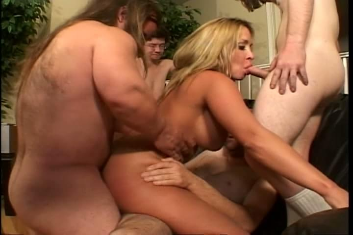 The amusing Hot midget gangbang