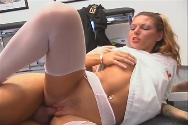 Nurse Rides Patients Cock 45