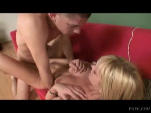 Naturally busty chick gets pounded