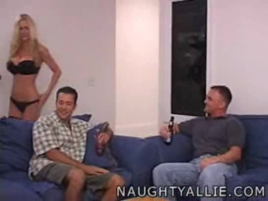 Bitches naughty allie gangbang