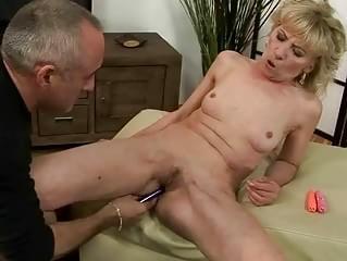 Nude erotic shaving