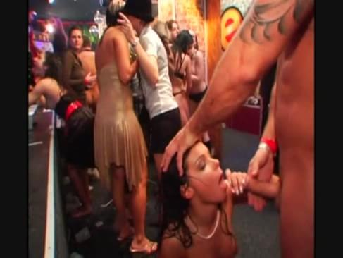 A compilation video of euro night club sex parties with multiple cumshots.