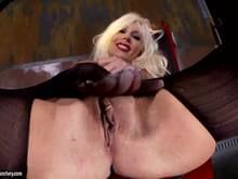 Sexy nud lady
