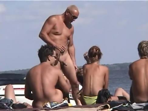 Nudist beach Canada