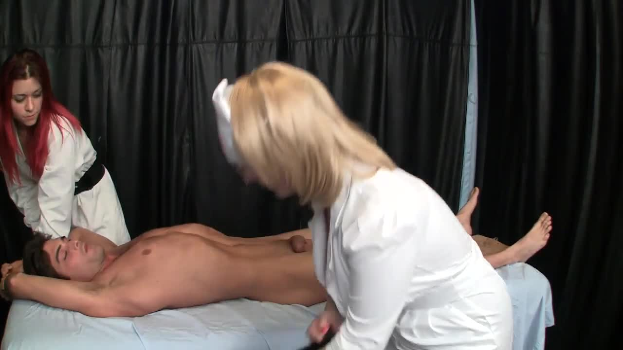 Rather valuable pantyhose nurse handjob