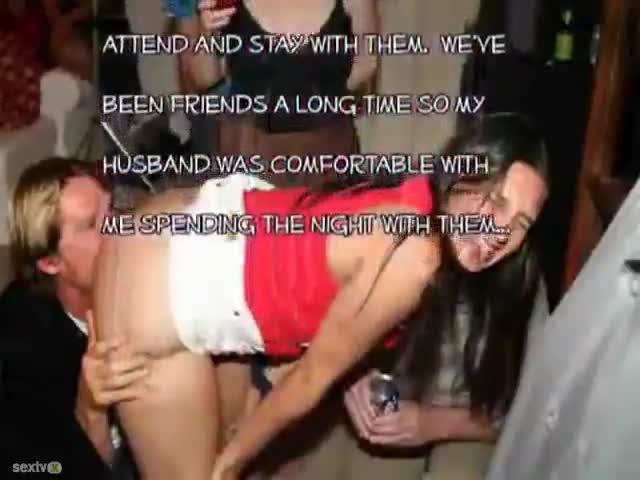 drunk slut cheats on husband