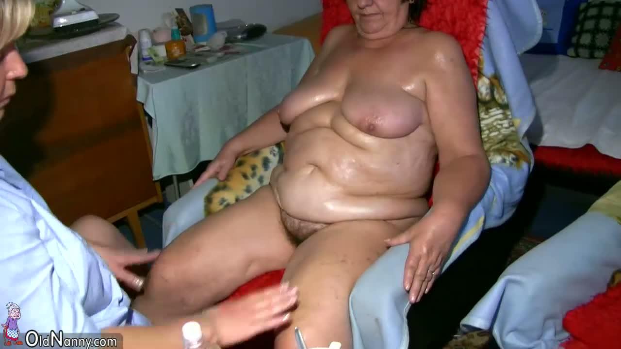Free granny massage porn