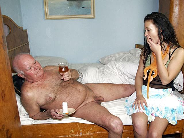 Дед секс фото с внучкой