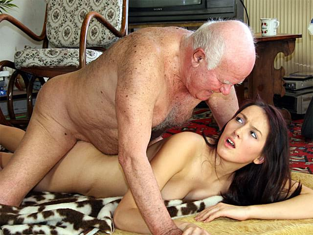 Teen and older man porn