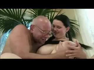 Big boobs with man