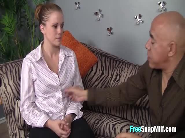 older man muscular younger woman fucking