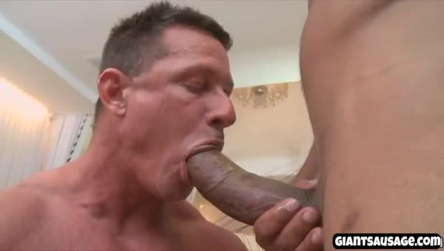 guys gagging on cock
