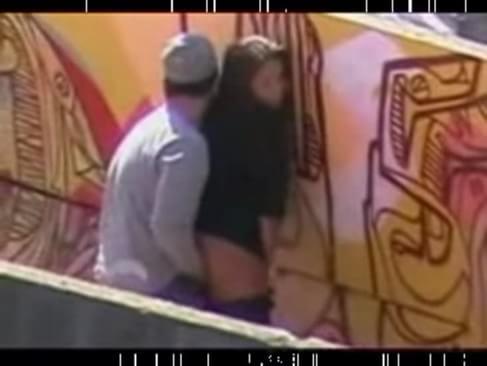 Street hidden camera porn