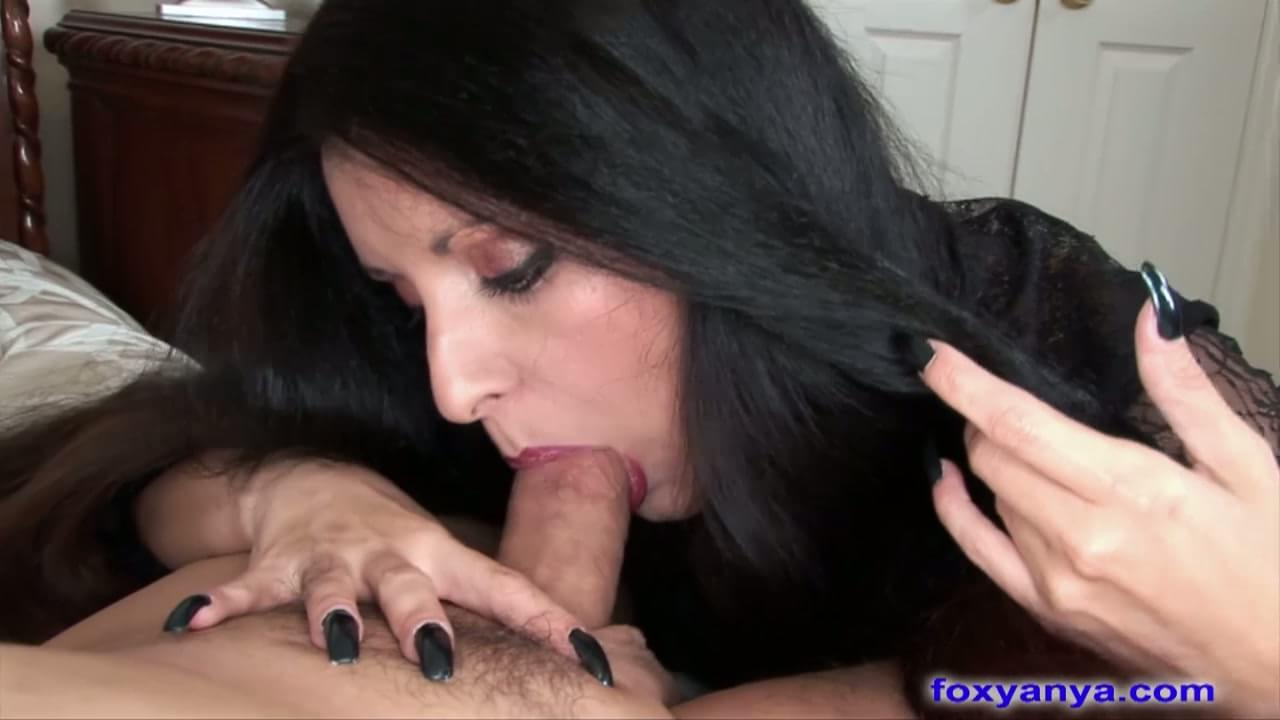 Smokin milf gets fucked and cream filled