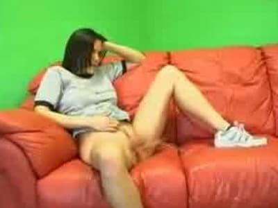 pissing on couch