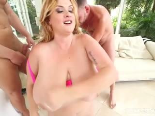 Sexy latino bbw does birthday strip