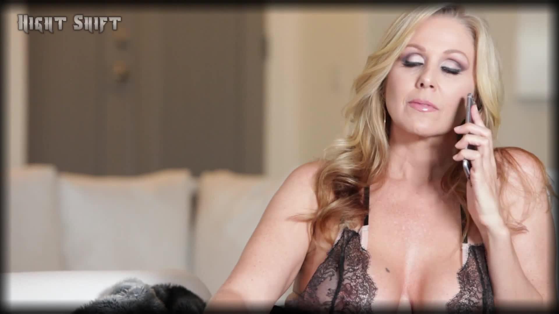 Смотреть порно юлия блонд