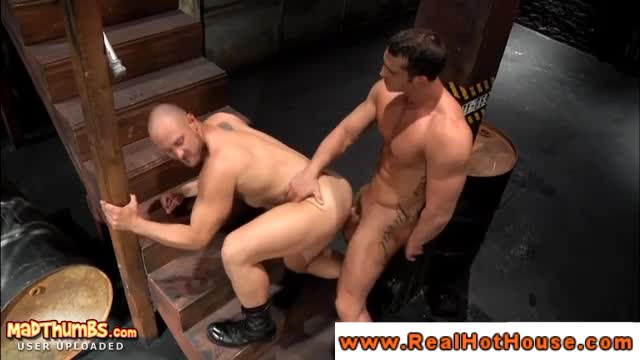 Powerful Beefy Stud Gets Ass Fucked