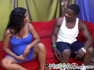 Pregnant Ebony With Massive Tits Enjoys Bbc