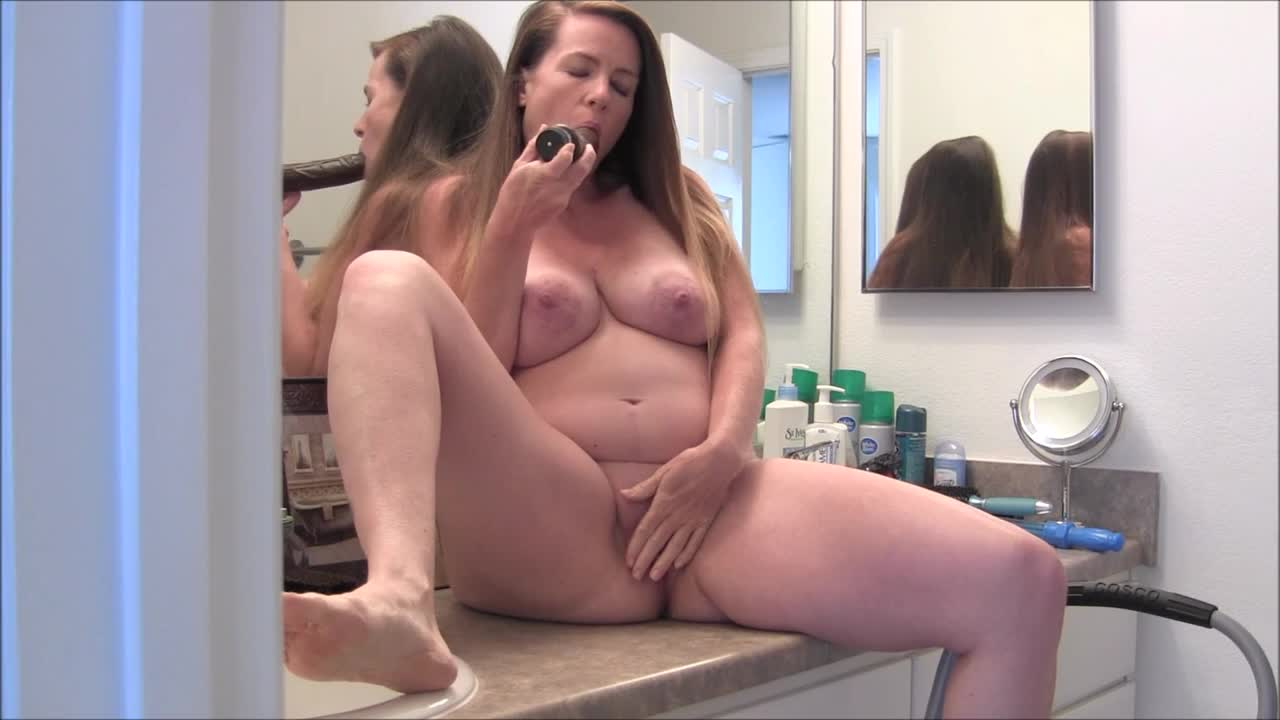 Milf in the bathroom