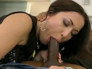 pretty brunette enjoys hard dp sex. 5 minutes 1 second