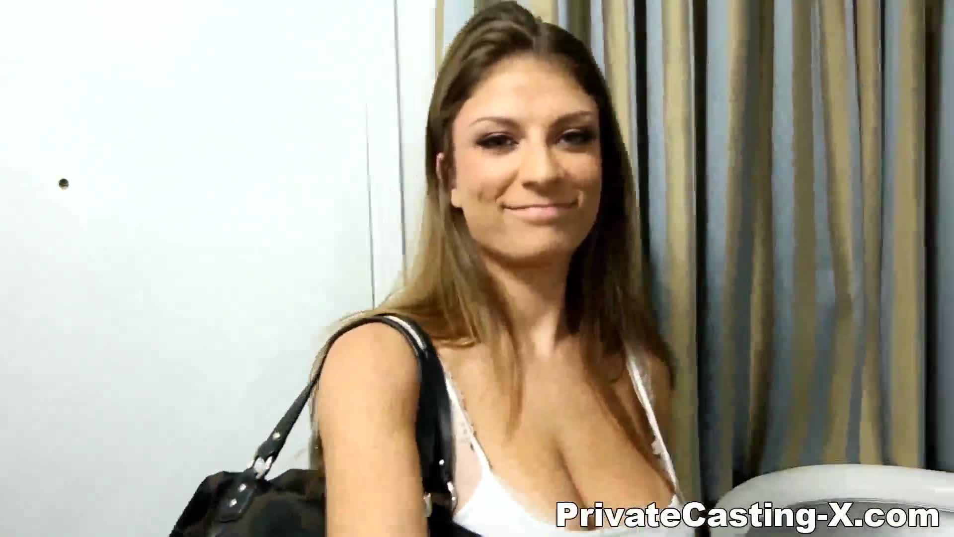 Private castingx fucking a future country star