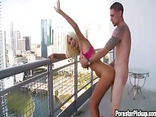 Fuck On Balcony 51
