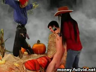 pumpkins Fucks beautiful girl