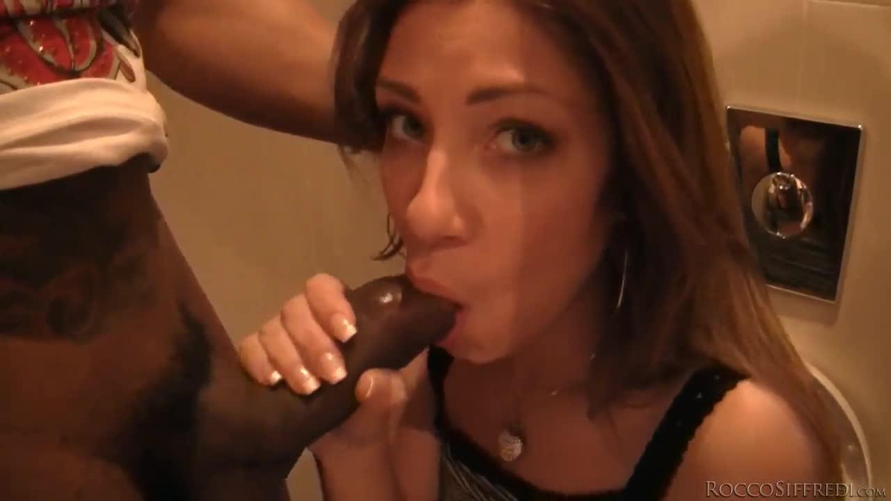 Rachel evans sucks and fucks a cock