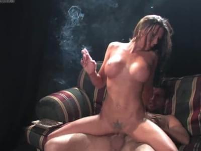 rachel starr smoking