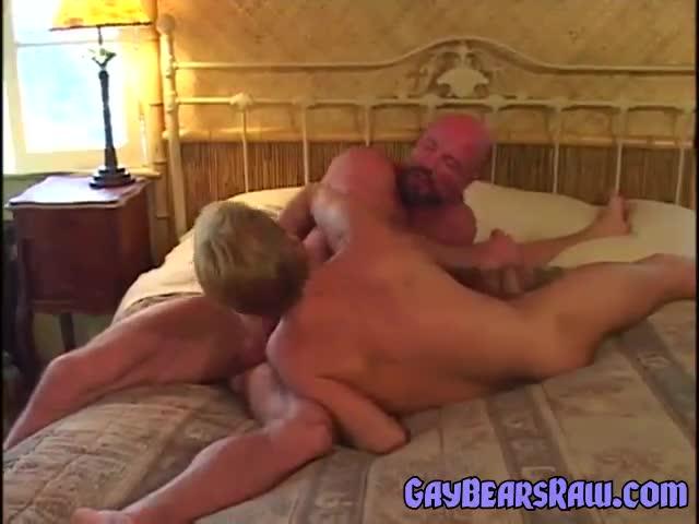 Gay bj bear sucks straighty
