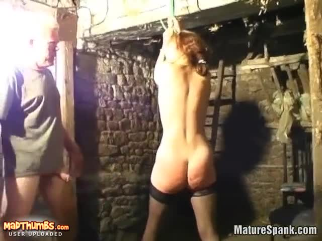 Naked ass whipping