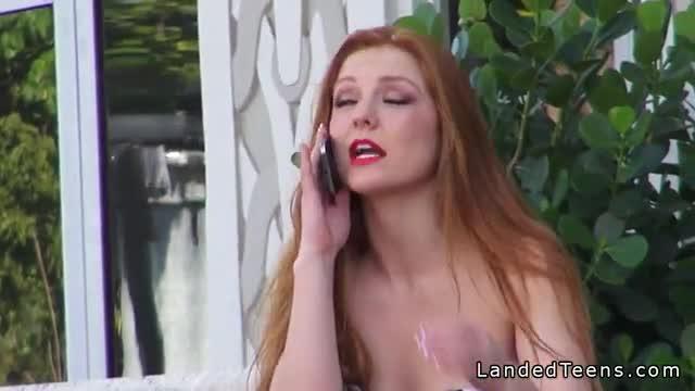 Amusement park nude flashing