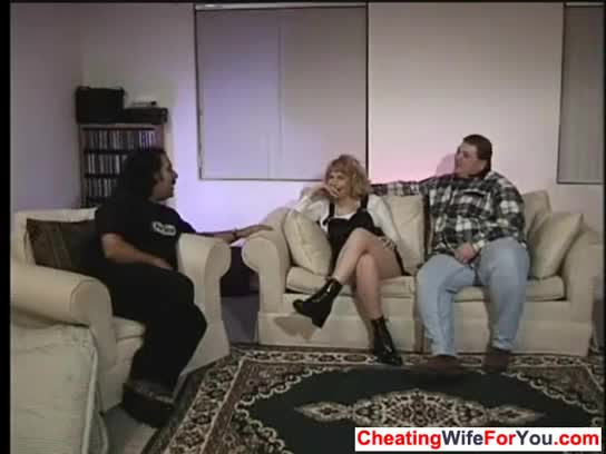 Wife sold debt fuck video