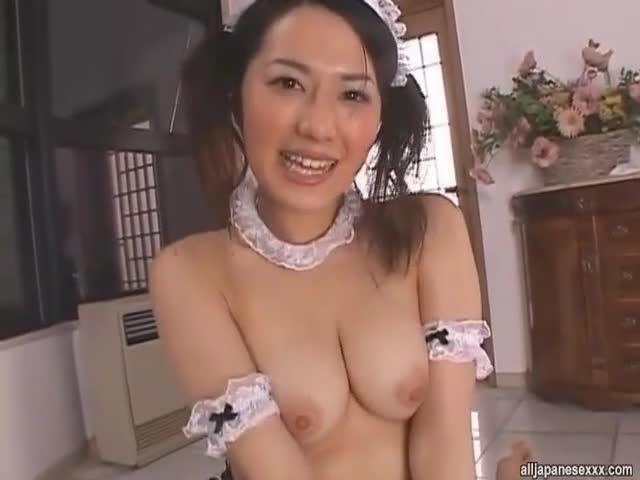 View sae mizuki kinky asian maid likes bukkake free