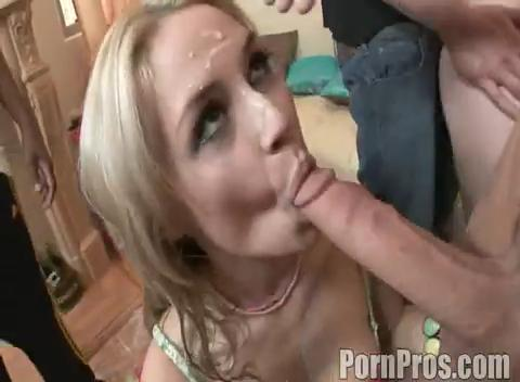 girl sucking cum from cock
