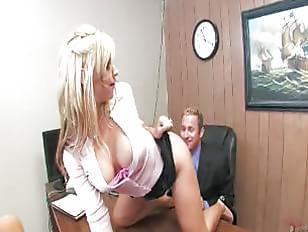 Blondes Love The Cream Pie!