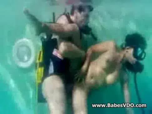 Sex in underwater watch more free