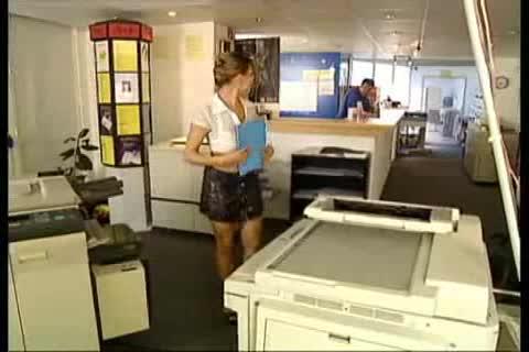 Sex On Copy Machine