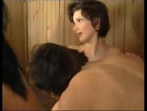 amaterii sex v saune