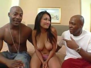 Black man fuck asian girl