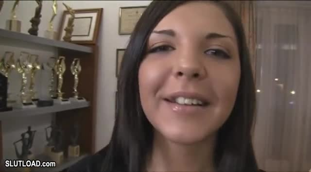 Nice phrase Sexy brunette blowjob facial and