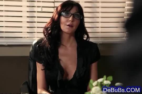 Teachers with tits big Sexy brunette
