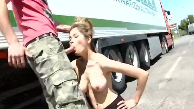 Outdoor public fucking