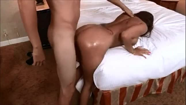 Sexy latino thick gettin fucked doggystyle screams