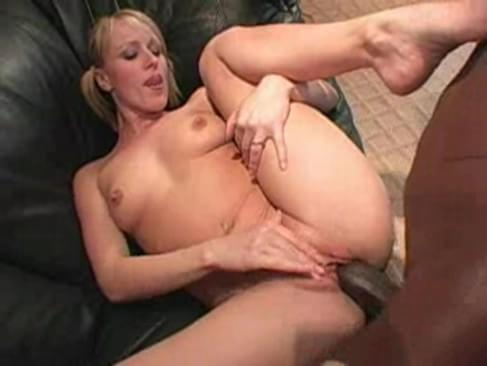 Sharon blonde interracial all sorry