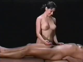 She massaged my cock