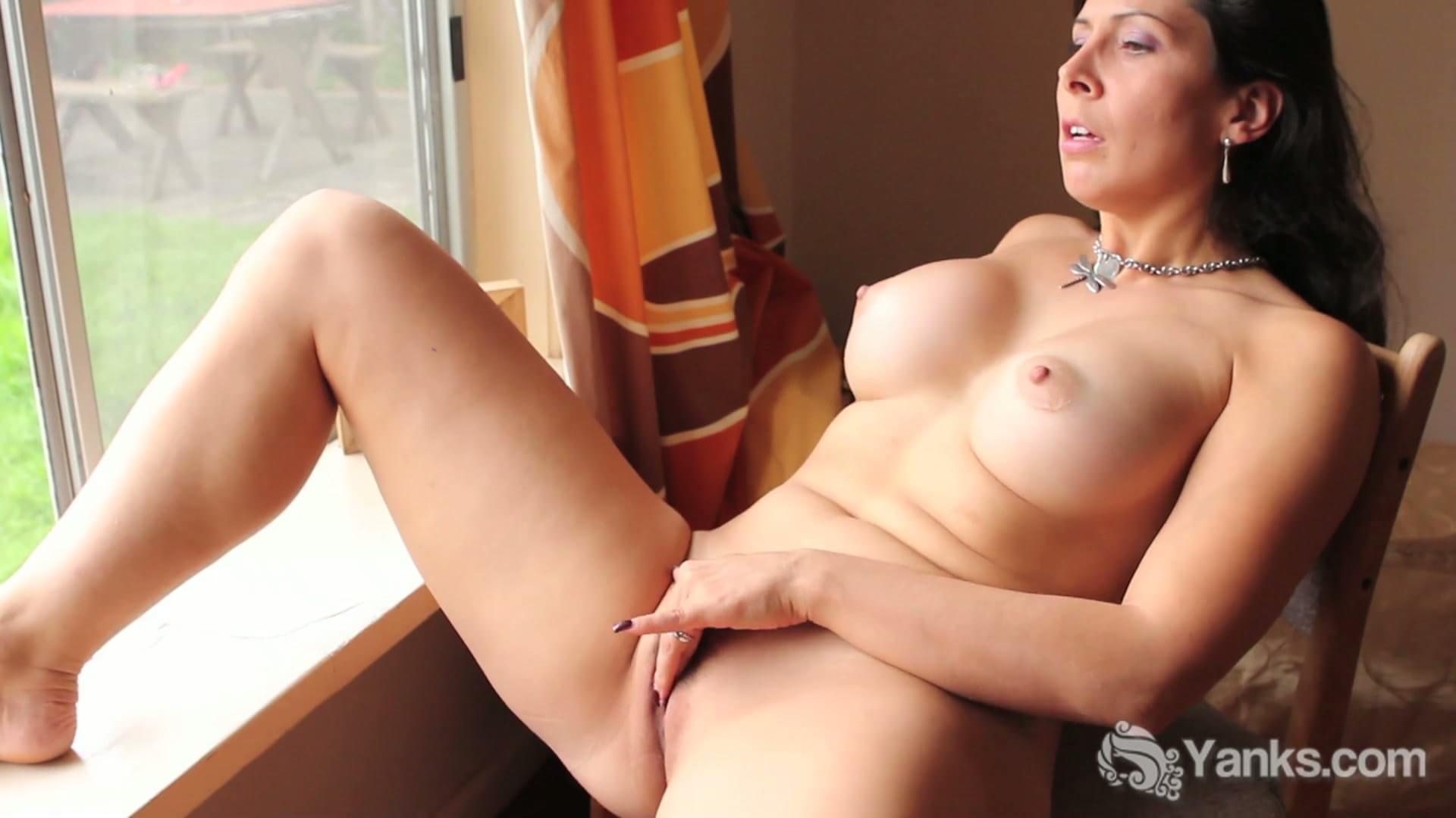 She masturbates with porn magazine and captured by neighbor german csm 3