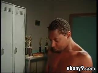 Short ebony slut